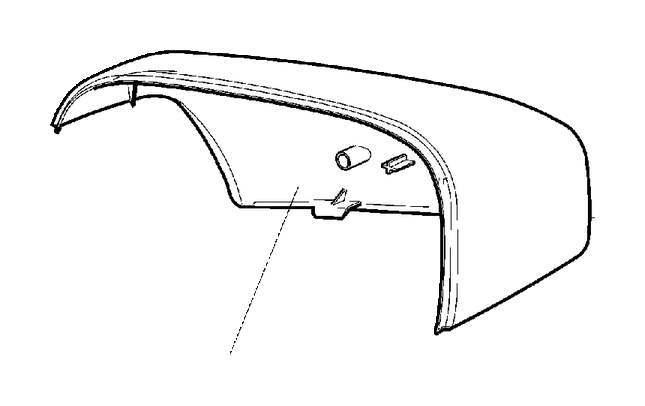 Капак огледало Volvo XC70, XC90 2005-2016 39894350